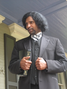Kevin McIlvaine as Frederick Douglass