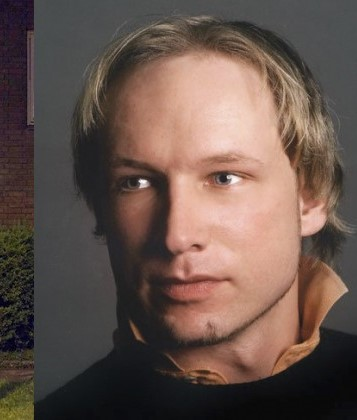 Terror Suspect Anders Behring Breivik. Photo published by VGNet.