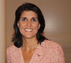Nikki Haley (from Wikipedia)